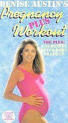 Denise Austin   Pregnancy Plus Workout VHS, 1999