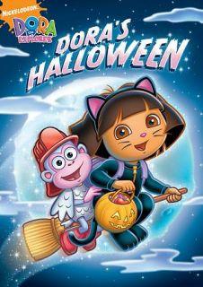 Dora the Explorer   Doras Halloween DVD, 2009, Canadian Re Packaged