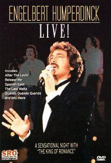 Engelbert Humperdinck   Live in Concert DVD, 2007