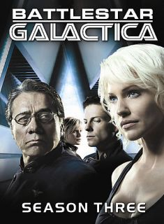 Battlestar Galactica   Season 3 DVD, 2008, 6 Disc Set