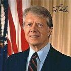 Leaf Oval Office Cut Signature Ronald Reagan Jimmy Carter 2 3