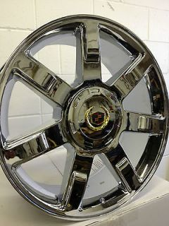 22 inch Triple Chrome Cadillac Escalade EXT OE Factory Replica Wheels