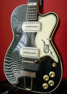 RARE 50S VINTAGE KAY AIRLINE PRO ARCHTOP ELECTRIC GUITAR