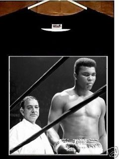 Muhammad Ali Angelo Dundee T Shirt; Cassius Clay, Angelo Dundee