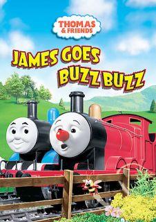 Thomas & Friends James Goes Buzz Buzz, New DVD, George Carlin, David