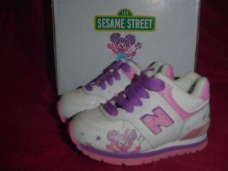 New Balance Sesame Street ABBY CADABBY Shoes Infant Toddler Size 2 New