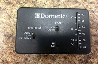 Weekend Warrior Dometic AC Thermostat Duo Therm Black Toy Hauler RV