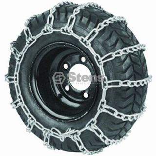 Tire Chain 23x1050x12 24x1200x12 Snow Mud Lawn Mower Tractor ATV (1