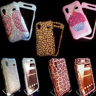 Samsung Galaxy Ace Mobile Phone Case Bling Diamond Diamante Cover