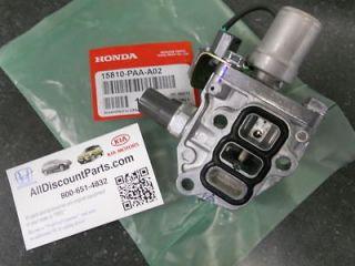 GENUINE HONDA ACCORD ODYSSEY VTEC SOLENOID SPOOL VALVE W/ GASKET 15810
