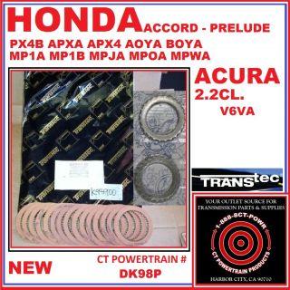 HONDA ACCORD PRELUDE ACURA 2.2 CL REBUILD KIT W/ STEELS