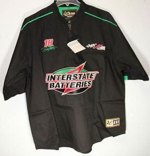 BOBBY LABONTE INTERSTATE BATTERIES VINTAGE PIT SHIRT RACING