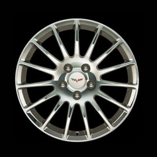 18x8.5 Front 19x10 Rear 2005 12 Chevrolet Chevy Corvette C6 Polished