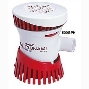 500 GPH Tsunami Cartridge Bilge Pump