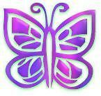 30 Custom Butterfly Personalized Address Labels