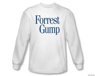 Officially Licensed Paramount Forest Gump Movie Logo Long Sleeve Shirt