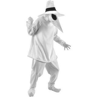 Spy White Spy Adult Costume spy,white spy,MAD,spy vs spy,video games