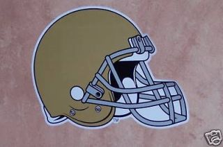 Notre Dame FATHEAD Official Team Helmet 12x9 Official NCAA Wall