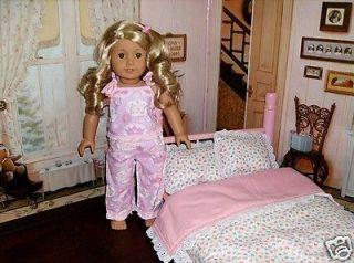 PRINCESS PAJAMAS fit AMERICAN GIRL DOLL EMILY KIT LANIE ADDY REBECCA