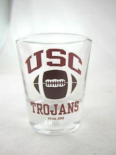 University of Southern California USC Trojans Football Shot Glass