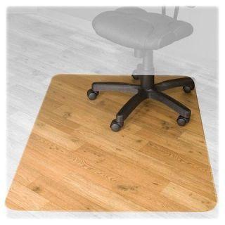 bamboo chair mat office floor mat wood floor protector honey oak desk