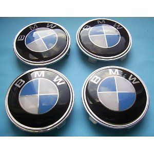 BMW AFTERMARKET WHEEL CENTER CAP SET 4 68mm e36 e46 NEW
