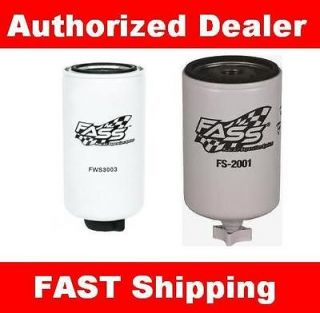 System TITANIUM Fuel Filter & Water Separator Filter FS 2001 FWS 3003