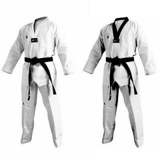Adidas TaeKwonDo 3stripe Grand Master Uniform Tae Kwon Do Uniforms Dan