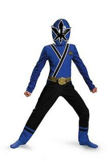 Boys Blue Ranger Costume Mask Power Rangers Samurai Toddler Childs