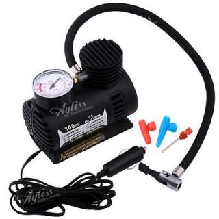 PSI Car Auto Electric Portable Pump Air Compressor Tire Inflator Tool