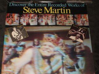 Steve Martin Comedy LP promo poster   King Tut SNL Saturday Night