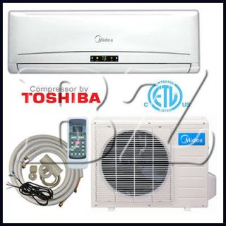 TON DUCTLESS MINI SPLIT AIR CONDITIONER HEAT PUMP 13 SEER,+INS.KIT