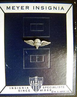 US Army Ranger Paratrooper Rigger Parachutist Jump Wing Insignia Badge