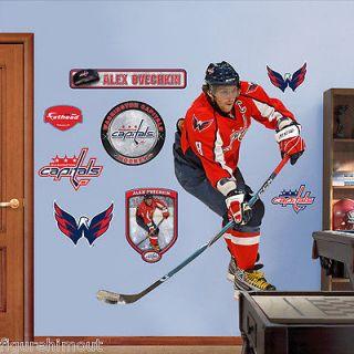 Alexander Ovechkin Washington Capitals Home Red NHL Life Like Fathead