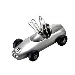 Racing Car Magnetic Paper Clip Holder Paperweight Gift