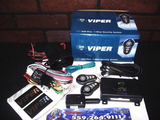 Car Alarm VIPER 350 Plus DEI Alarm By Viper Clifford Python Keyless