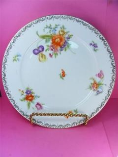 Vintage 1930s Rosenthal Selb Bavaria Airy Floral Sprays Plate 10 3/4