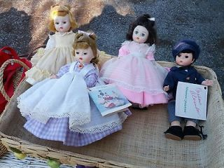 Madame Alexander Dolls   Little Women Series   Set of Four   1970s