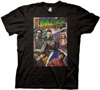 The Big Bang Theory TV Comic Book Cover Adult Shirt