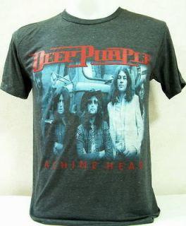Deep Purple Vintage Rock Nice Cool Slim Fit Thin&Soft Elastic Jersey T