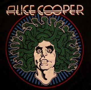 ALICE COOPER cd lgo Snakes MEDUSA Official SHIRT XXL 2X new