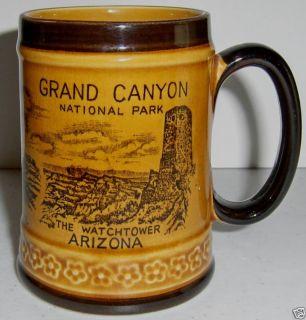 Vintage Ceramic Souvenir Mug Grand Canyon Arizona NICE