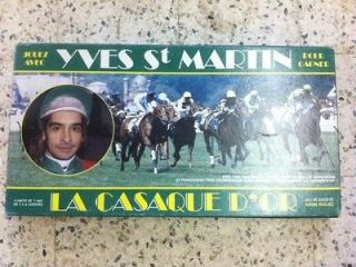 CASAQUE DOR great french vintage horse racing simulation game RARE