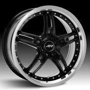 American Racing Torq Thrust M Black Wheel 17x10.5 5x4.75 BC