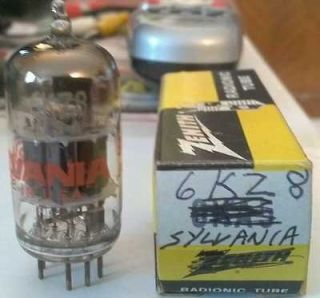 Vintage Sylvania Tv/Radio/Power /Amp Vacuum Tube 6KZ8
