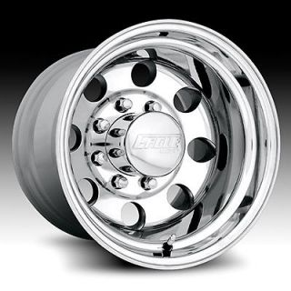 16 X 10.5 AMERICAN EAGLE ALLOY 0589 058 WHEELS RIMS 6X5.5 POLISHED