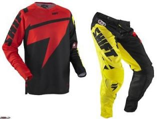 Shift MX Racing Chad Reed Pant & Jersey Red/Yellow Two Two Motorsport