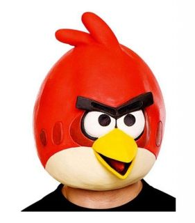 Angry Birds SPACE RED BIRD ADULT FULL OVERHEAD LATEX MASK Licensed