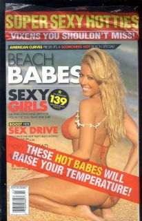 AMERICAN CURVES BEACH BABES WINTER 2009 BRAND NEW SEALED COPY 139