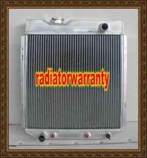 Aluminum Radiator Ford Mustang 1965 1966 V8 Engine 5 L 302 351 390 428
